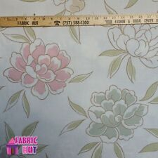 Home Decor Iride Natural Flowers Floral Heavy Upholstery Fabric by the Yard