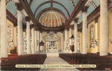 Mobile, ALABAMA - Cathedral of the Immaculate Conception - 1946 - Catholic