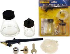 MINI Kit aerografo arte artigianato unghie personalizzato Decorazione Torte Modelli Touch Up Spray
