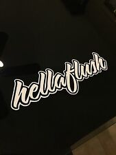 Hellaflush Sticker Decal Jdm Drift Racing Illest Euro Slammed Stance Domo