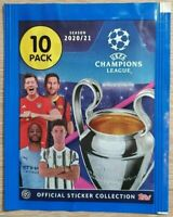 Topps CL 2020 2021 10 Sticker aussuchen choose pick Champions League Panini