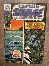 Captain Savage and his Battlefield Raiders #19 they serve in silence
