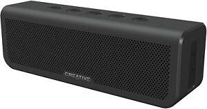 Creative Metallix Plus Bluetooth Speaker - Black (IL/RT6-14364-51MF8300AA000-UG)
