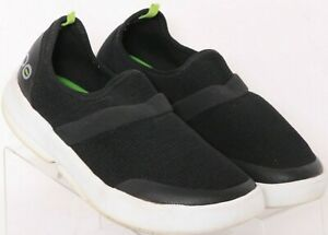 Oofos Oomg Black Mesh Slip-On Stretch Recovery Sneaker Shoes Women's US 8