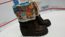 Collectors Sears WINNIE THE POOH  WINTER SNOW Toddler BOOTS  WALT DISNEY 1970s