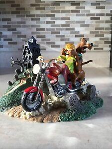 Very Rare Scooby's Scary Ride Biker Gang Figurine