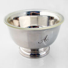 Paul Revere Bowl Plastic Liner Cartier Sterling Silver Mono Boxed