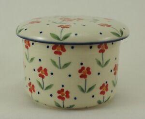 B-Ware Bunzlauer Keramik Butterdose, Hermetic mit Wasserkühlung  (M136-AC61)