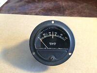 Vintage Triplett Meter Measures 0-100 made by Gruen Watch Co 0242-T Gauge