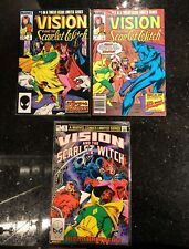 Vision and the Scarlet Witch #1 2 3 Marvel 1982 Comic Book Set 1-3