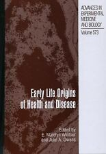 Early Life Origins of Health and Disease (Advances in Experimental Med-ExLibrary