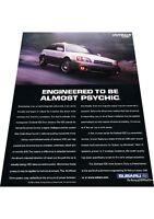2001 Subaru Outback VDC -  Vintage Advertisement Car Print Ad J424