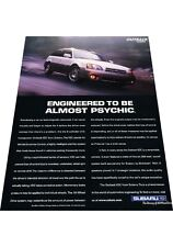 2001 Subaru Outback VDC -  Vintage Advertisement Car Print Ad J424