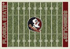 "5x8 Milliken Florida State Seminoles NCAA Field Area Rug - Approx 5'4""x7'8"""