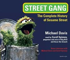Street Gang: The History of Sesame Street 7-CD Audiobook - NEW - FREE SHIPPING