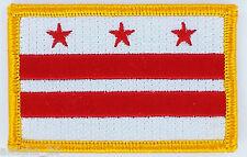 Ecusson Brodé PATCH drapeau Washington District Columbia USA FLAG EMBROIDERED