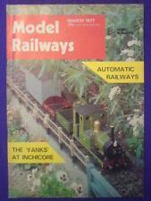 MODEL RAILWAYS - AUTOMATIC RAILWAYS - March 1977