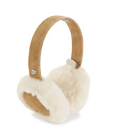 New UGG Women's Shearling & Suede Earmuffs Chestnut