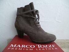 Marco Tozzi Damen Stiefelette Stiefeletten Stiefel Boots pfeffer NEU
