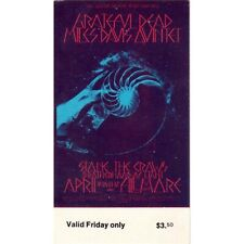 Miles Davis and The Grateful Dead (Jazz/Rock): Two 1970 Tickets