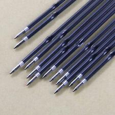 New 100 Pcs Blue Color Refills 0.7mm School Retractable Pen Pens Replace Refill