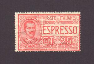 ITALY E1 Mint SCV $47.50