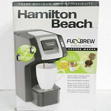 OPEN BOX Hamilton Beach FlexBrew K-Cup Coffee Maker 49974 FREE SHIPPING