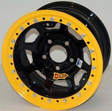 Wheels 53 Black Powdercoat Beadlock Wheel 15x8 5x4.5 53184530