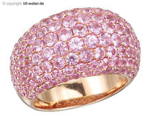 "Ring ""Rosa Saphire"" Rose Gold"
