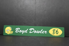 GREEN BAY PACKERS Vintage Locker Room Sign BOYD DOWLER  Reproduction Lombardi