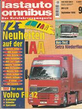 Lastauto Omnibus - Das Nutzfahrzeugmagazin 09/1996 : Volvo FH 12