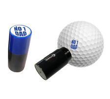 No 1 DAD - ASBRI GOLF BALL STAMPER, GOLF BALL MARKER - GOLF GIFT OR PRIZE