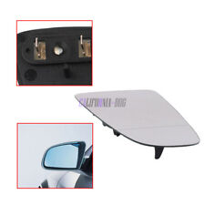 Left Door Rearview Wing Mirror Glass Heated & Holder For Audi A3 A4 B6 B7 A6 C6