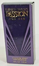 Passion by Elizabeth Taylor for Men 4.0 oz Cologne Spray New