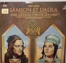 Saint-Saens Samson Et Dalila Jose Luccioni Helene Bouvier 3-record set 011517LLE