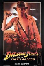 Indiana Jones Temple Doom Movie Poster 24in x 36in