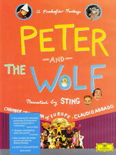 Sting Coe Abbado Peter And The Wolf DVD Classical Music Brand New