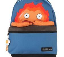 HOWL'S MOVING CASTLE CALCIFER BACKPACK SCHOOL BAG FIRE DEMON STUDIO GHIBLI NEW