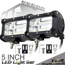 "5""INCH 168W LED Work Light Bar Flood Combo Boat Driving Off-Road Tractor 4WD 12V"