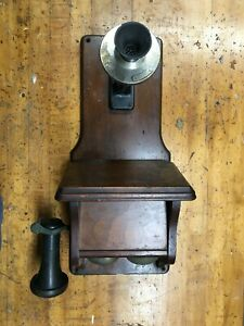 Western Electric Fiddle Back Style Walnut Telephone Type 294A - c.1905
