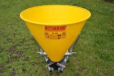 Fertiliser Fertilizer Seed Spreader POLY 480kg    -MADE IN ITALY-