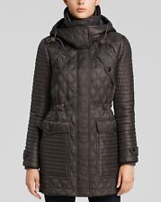 Burberry Brit  Bosworth Quilted Patchwork Jacket Coat S $895 NEW