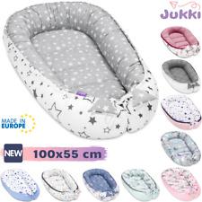 Baby Nestchen Kokon Babynest Kuschelnest Reisebett 2-seitig ? Baumwolle ? 55x100