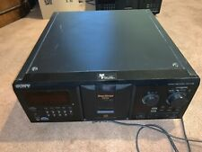 New listing Sony Cdp-Cx335 Cd Changer, New Drive Belts, Tested Works Well, No Remote