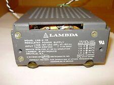 LAMBDA LNS-Z-15 Regulated Power Supply - 15±5% VDC, 1.4A @ 40°C