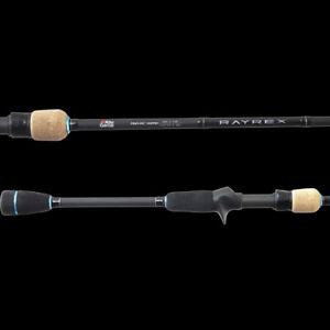"""2019 Abu Garcia RAYREX RYX 772SP-UL 1-3KG 2 Piece 7'7"""" Spin Fishing Rod"""