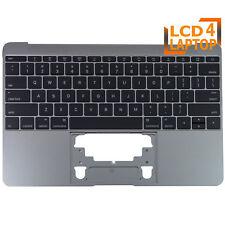 "Topcase Palmrest Grey + US Keyboard For Apple Macbook 12"" Retina A1534 2016 2017"