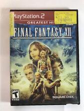 Final Fantasy XII (Sony PlayStation 2, 2006) Final Fantasy 12 PS2