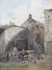 Charles Marie PALIANTI (1815-?) Fontainebleau Barbizon élève de Corot Catalan
