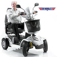 Silverado 4-Wheel Full Suspension Electric Mobility Scooter Merits S941A + 50AH
